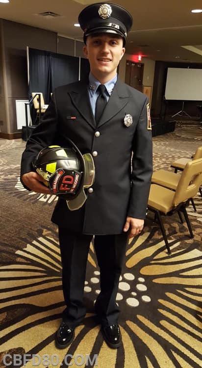 Firefighter Michael McCord