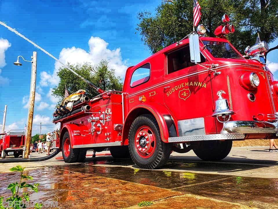 '48 LaFrance in Jeffersonville, Indiana
