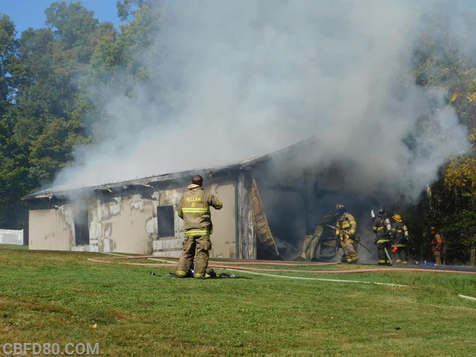 Garage Fire in Hellam Township