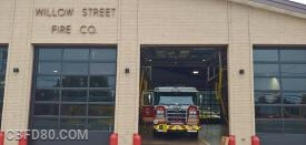 Rescue 80 at Station 50 (Willow Street)