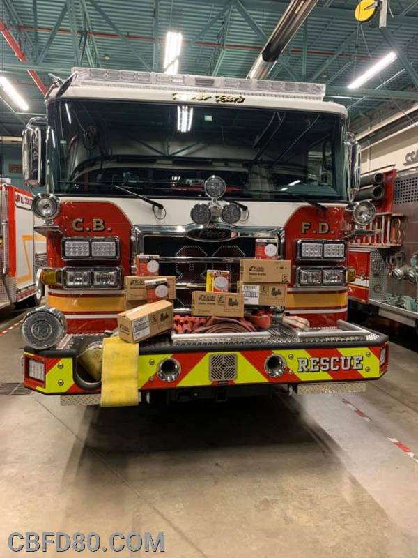Smoke Detectors Donated by Liberty Fire Company