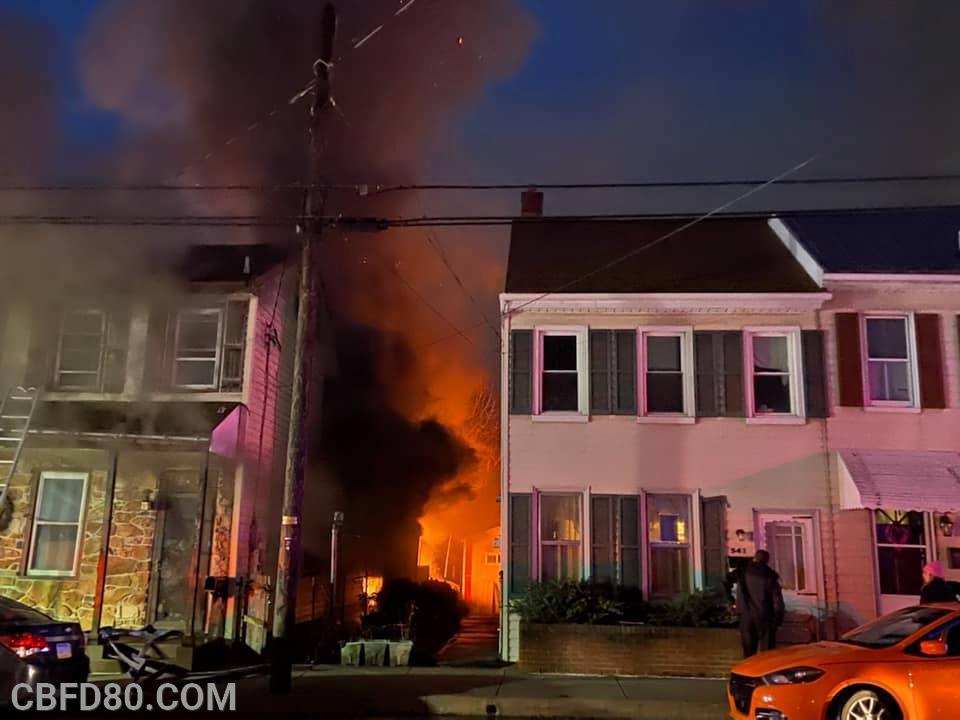 Manor Street Fire
