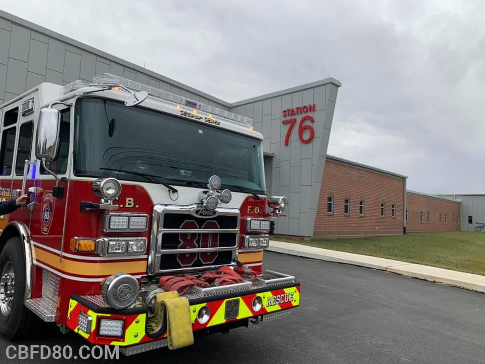 Rescue 80 at Station 76