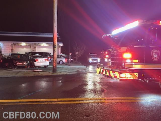 Lancaster Avenue Crash