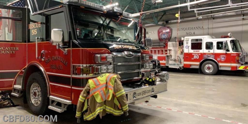 Rescue 55 Standing by at Station 80