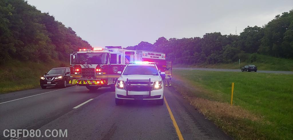 Rescue 80 and CBPD on Route 30 Crash