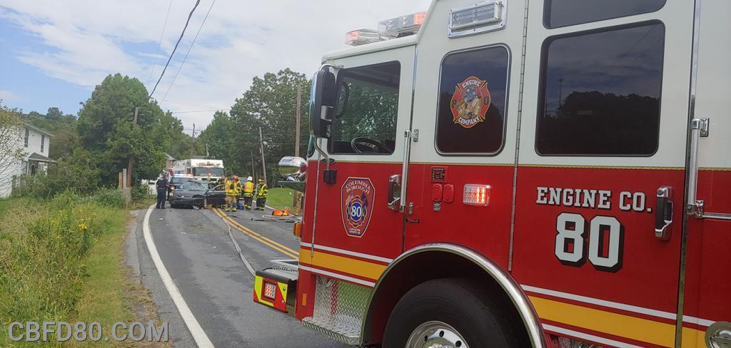 Ironville Pike Crash