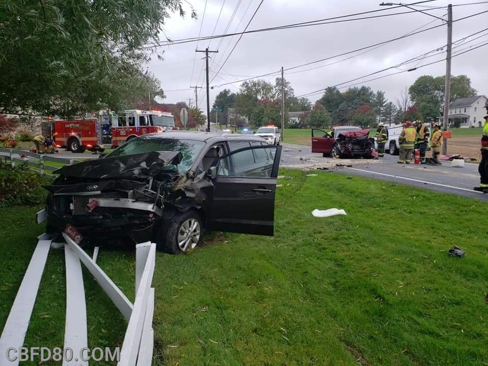 Entrapment Crash on Ironville Pike