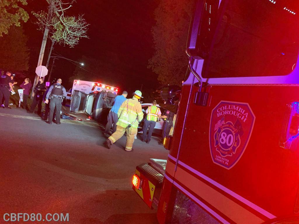 Vehicle Crash on Manor Street