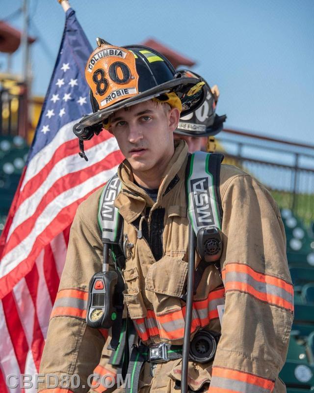 Firefighter Ryan Hinkle