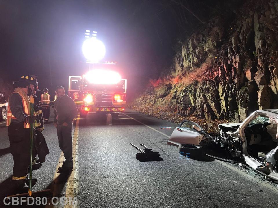 Entrapment Crash on Route 441