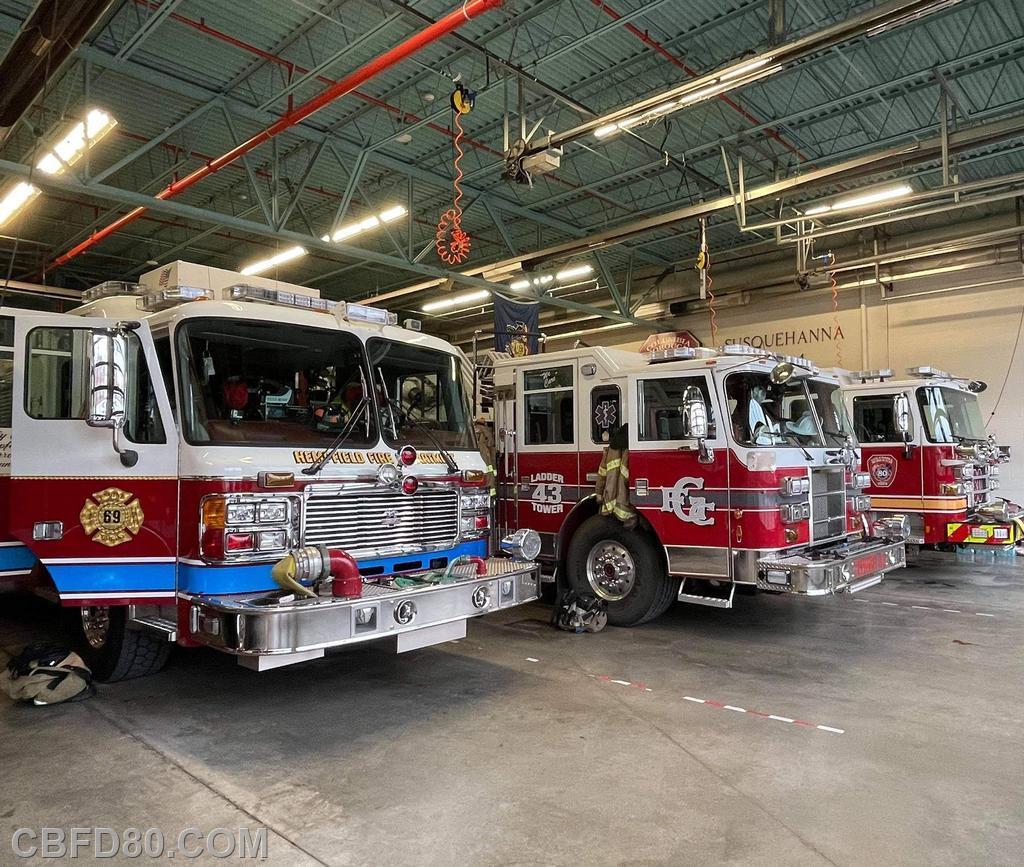 Banquet Standby Companies Hempfield Engine 69-1 and Gordonville Truck 43