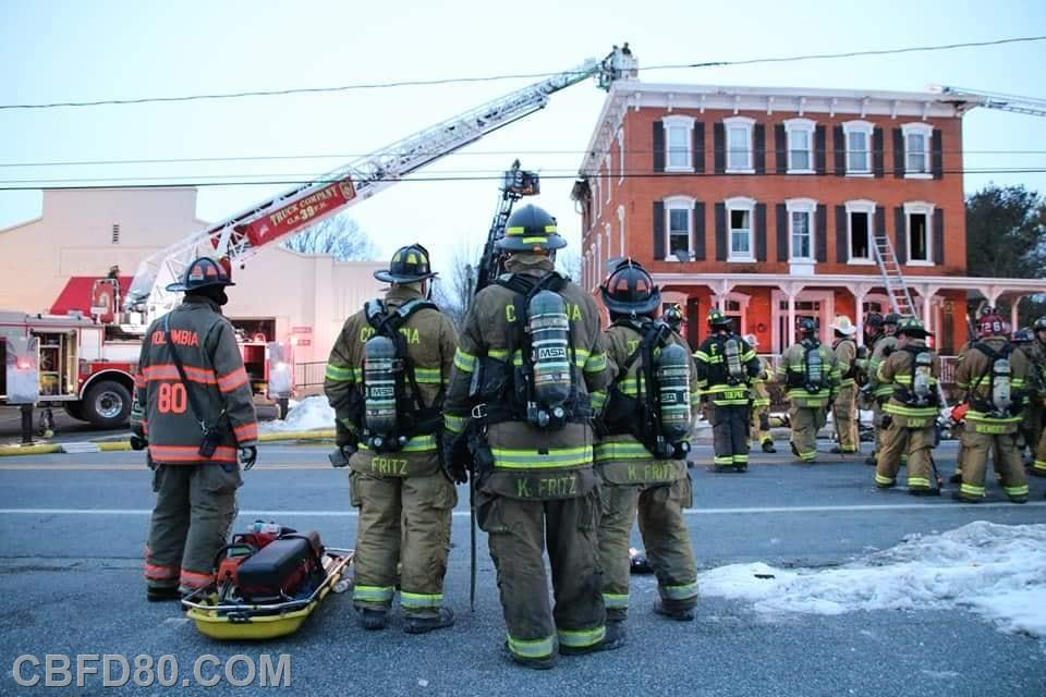 Rit Crew at 3 Alarm Fire in 69 First Due