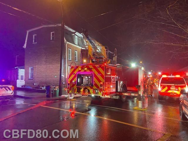 South 8th Street Fire