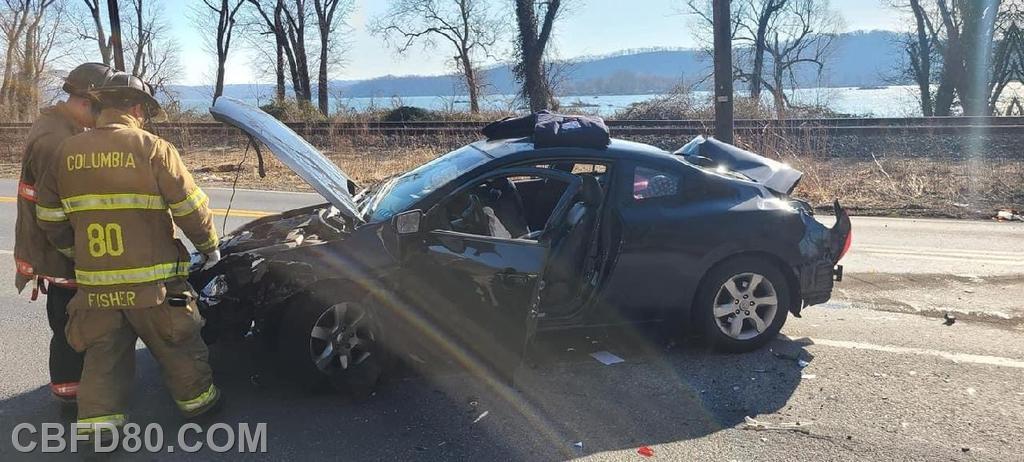 South Front Street Crash