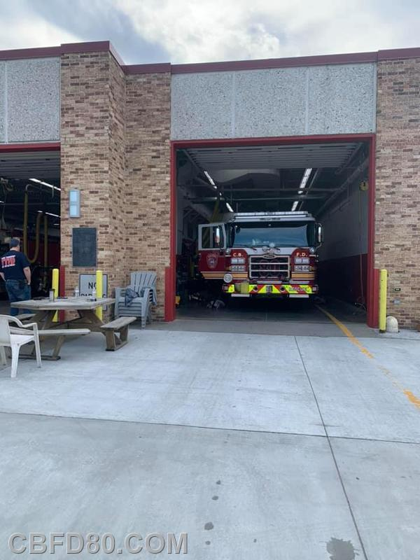 Rescue 80 at York Township Station