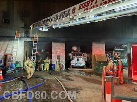 Ridge Avenue Fire