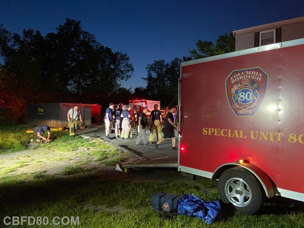 Crews at Environmental Rescue in Wrightsville