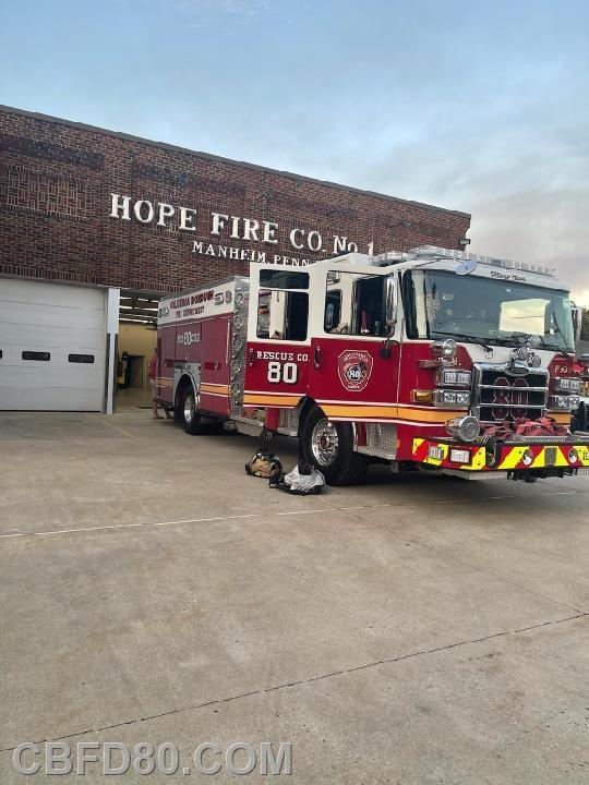 Rescue 80 at Station 26