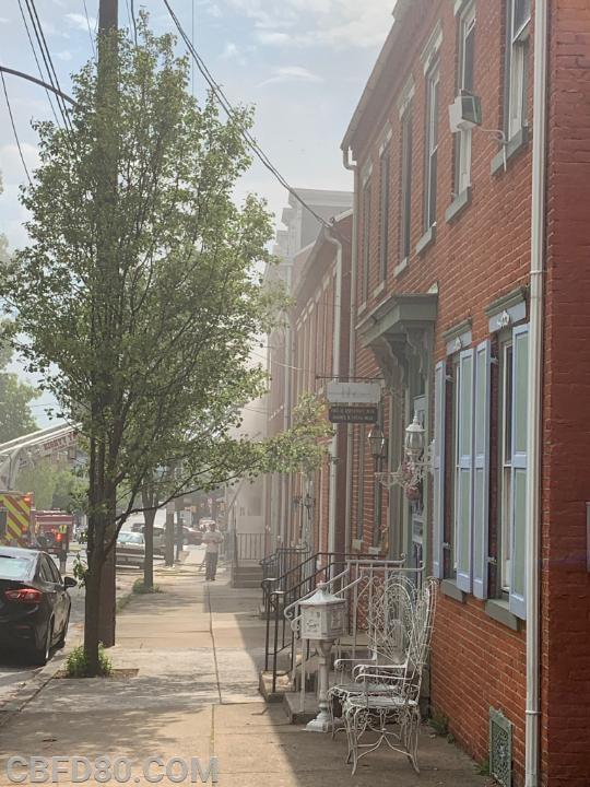Locust Street House Fire