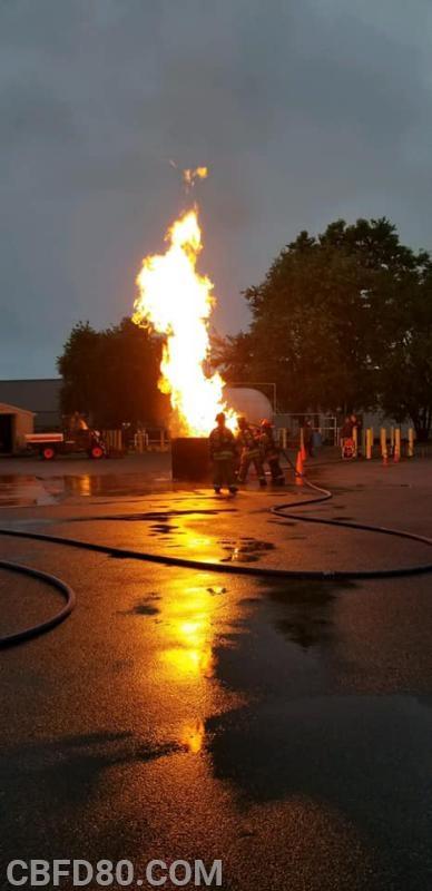 Dumpster Fire Training Prop